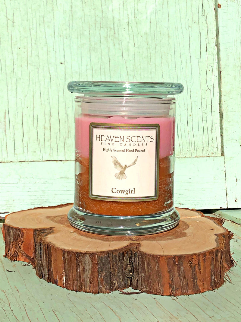 10 oz Candle- Cowgirl Scent