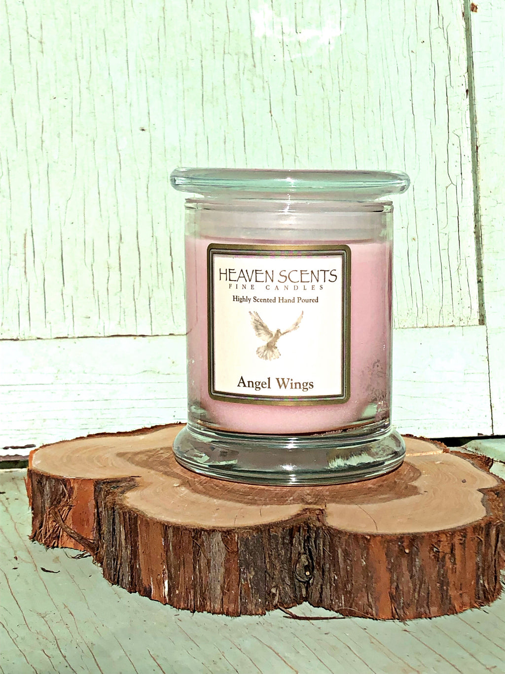 10 oz Candle- Angel Wings Scent
