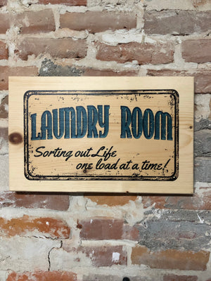 UV Color Handmade Decor-Laundry Room