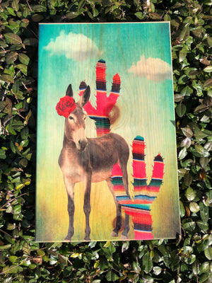 UV Color Handmade Decor-SASSY Donkey