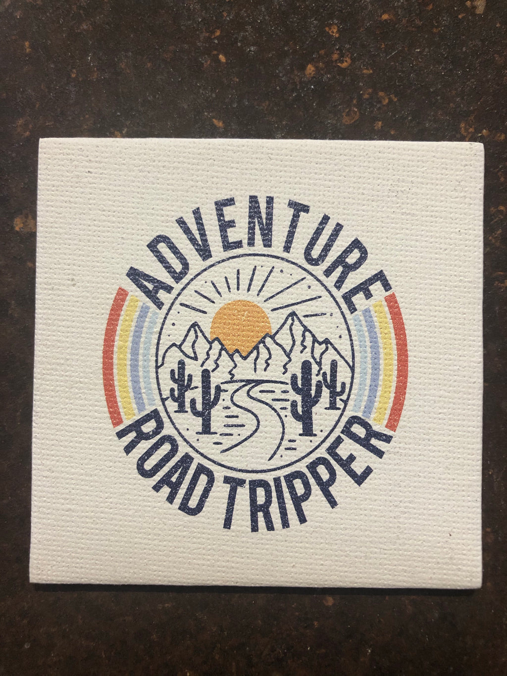 Canvas Magnet-Adventure Road Tripper