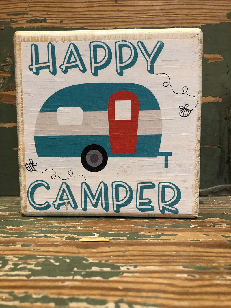 Handmade Décor- Happy Camper RV