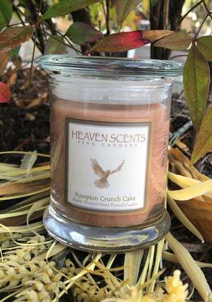 10 oz Candle- Pumpkin Crunch Cake Scent