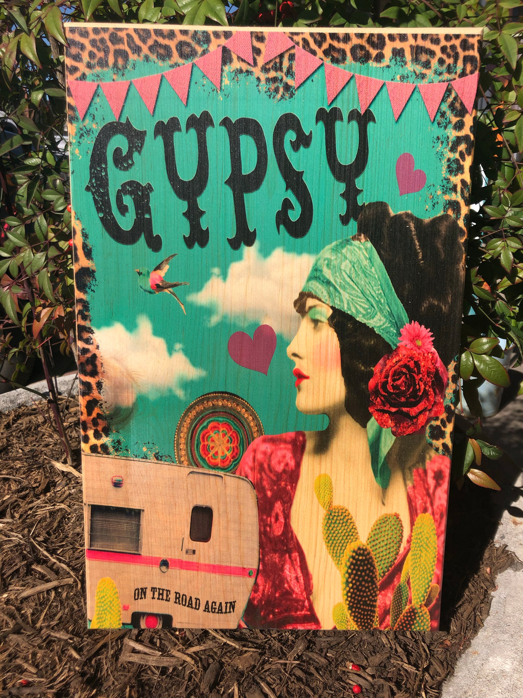 UV Color Handmade Decor-GYPSY On The Road Again
