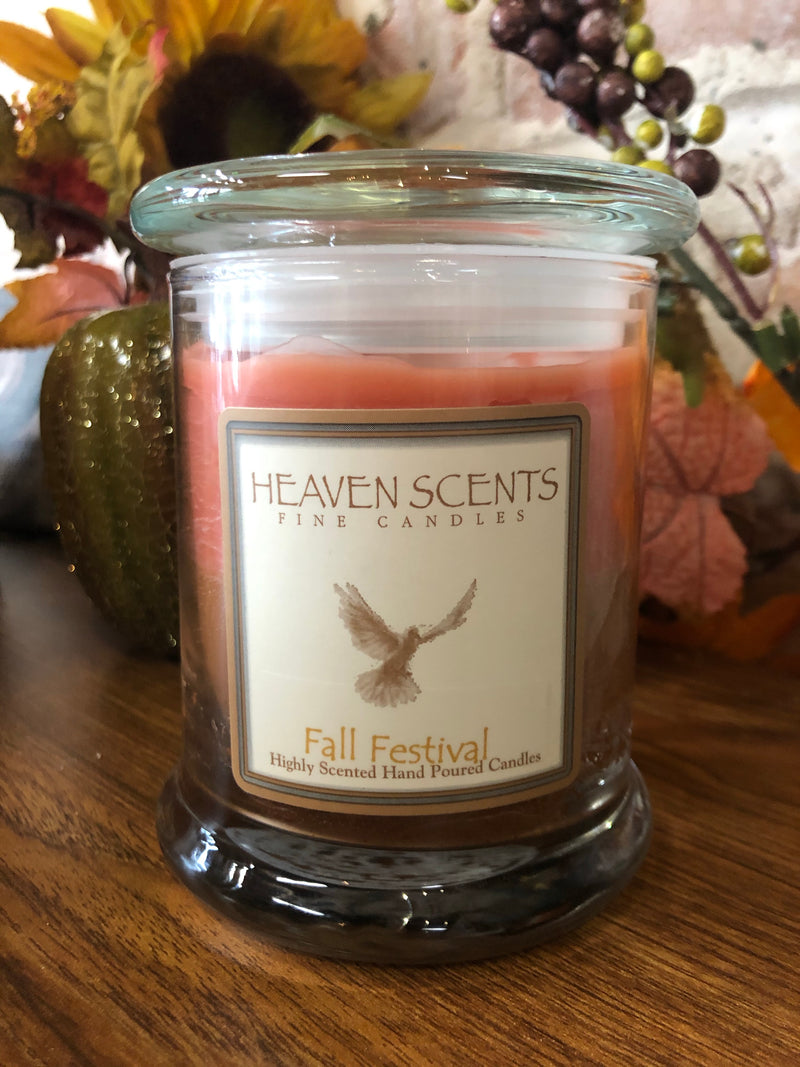 10 oz Candle- Fall Festival Scent