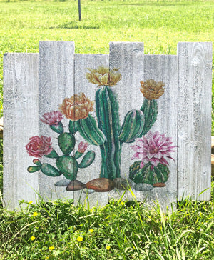 UV Printed Home Decor - Cactus Desert