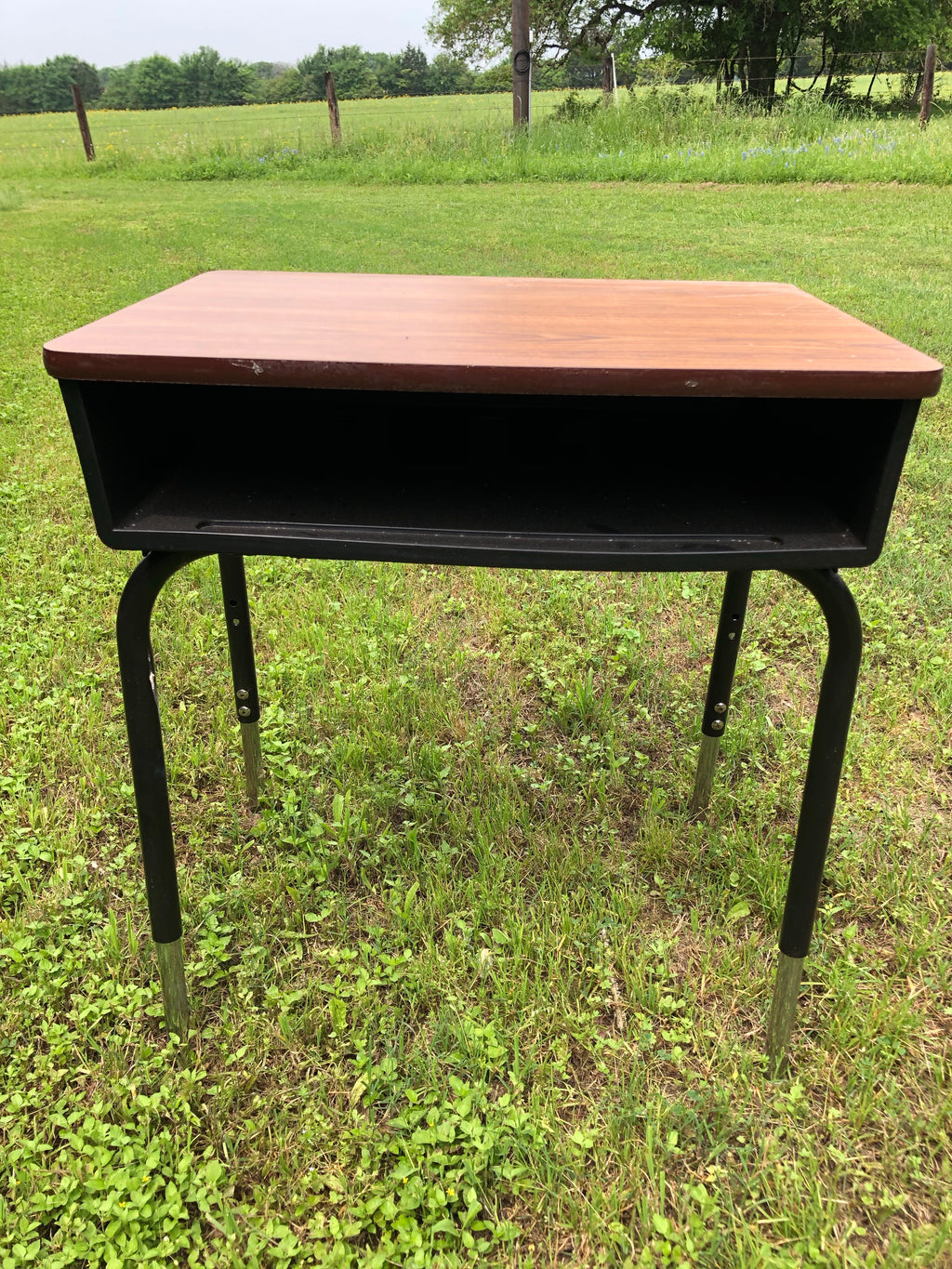 Vintage School Desk w/storage