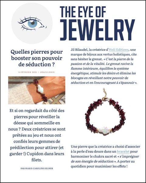 The Eye of Jewelry Presse Holi Editions