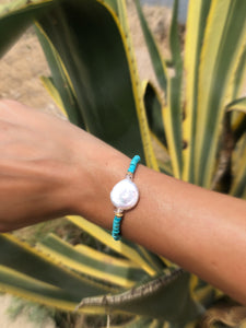 Mother Earth Turquoise Bracelet