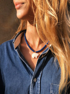 Feeling Fearless Lapis Lazuli Necklace