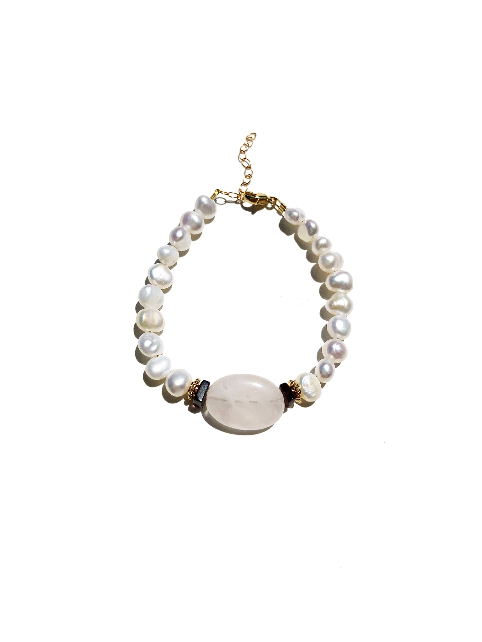 Love Note Perles Blanches Bracelet