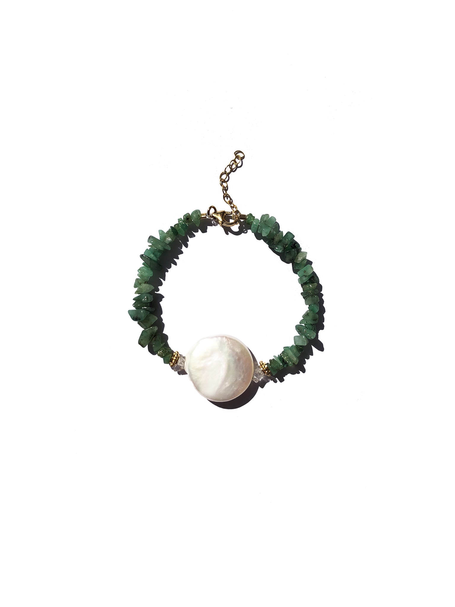 Mother Earth Émeraude Bracelet