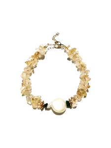Pearl For Soul Citrine Bracelet