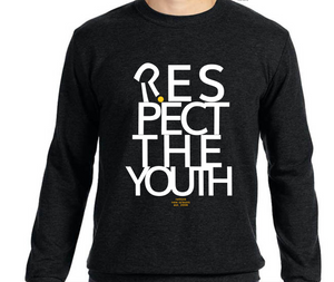 respect the youth crew neck