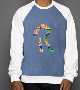 heritage crew neck with embrodiered logo