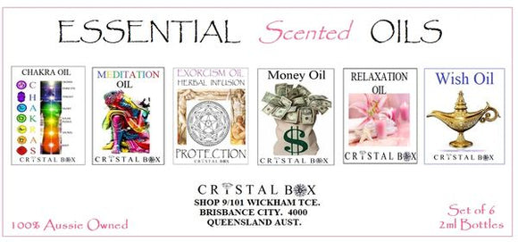 Essential Scented Oils Collection