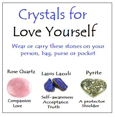 Crystals for Love Yourself