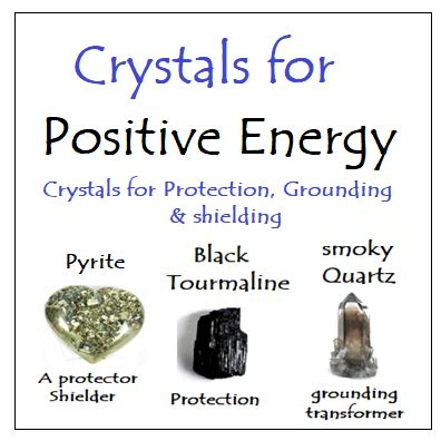 Crystals for Positive Energy