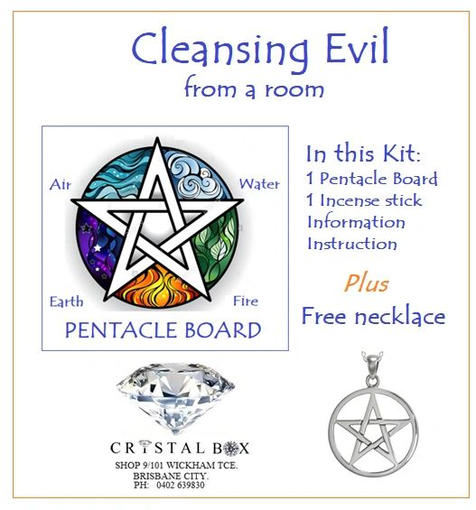 Cleansing Evil from a Room Candle Kit