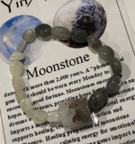 Black & White Moonstone Bracelet