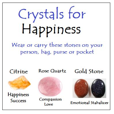 Crystals for Happiness