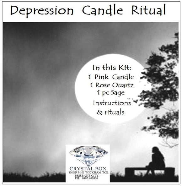 Depression Candle Ritual Kit