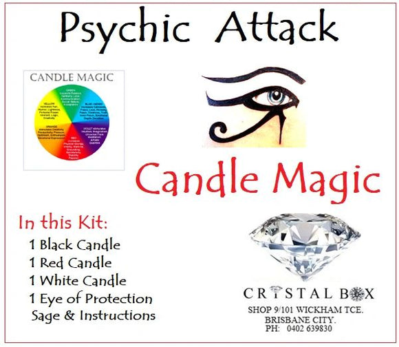 Psychic Attack Candle Kit