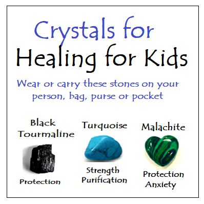 Crystals for Healing for Kids