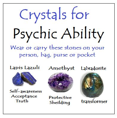 Crystals for Psychic Ablility