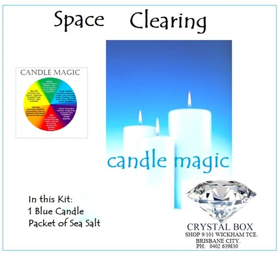 Space Clearing Candle Kit