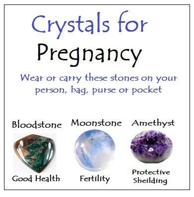 Crystals for Pregnancy