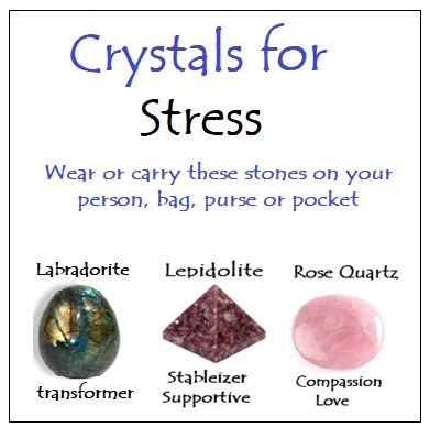 Crystals for Stress