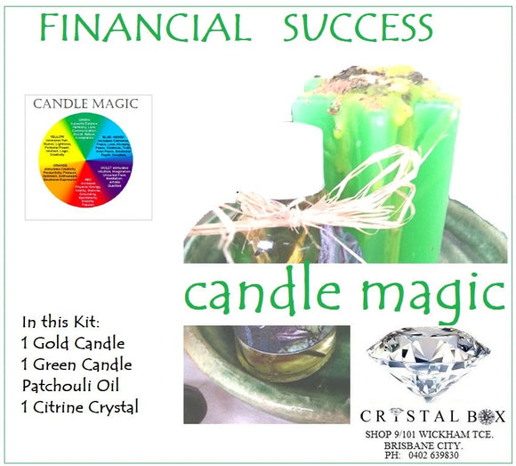 Financial Success Candle Magic