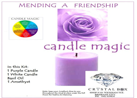 Mending a Friendship Candle Kit