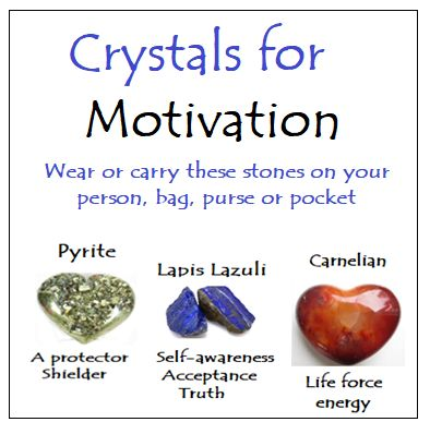 Crystals for Motivation
