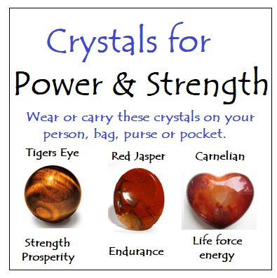 Crystals for Power & Strength