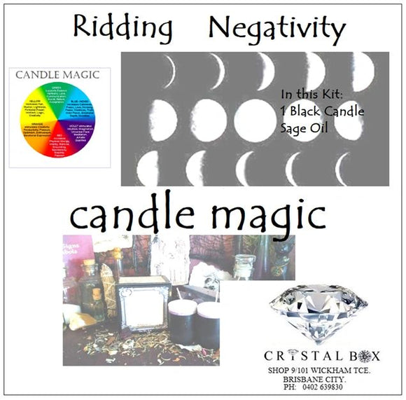 Ridding Negativity Candle Kit