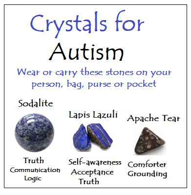 Crystals for Autism
