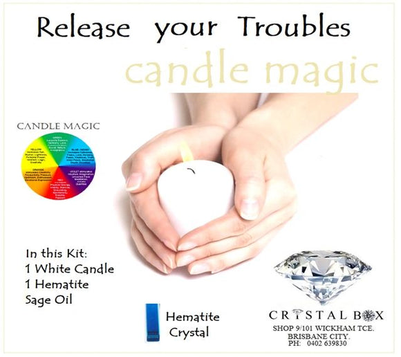 Release your Troubles Candle Kit