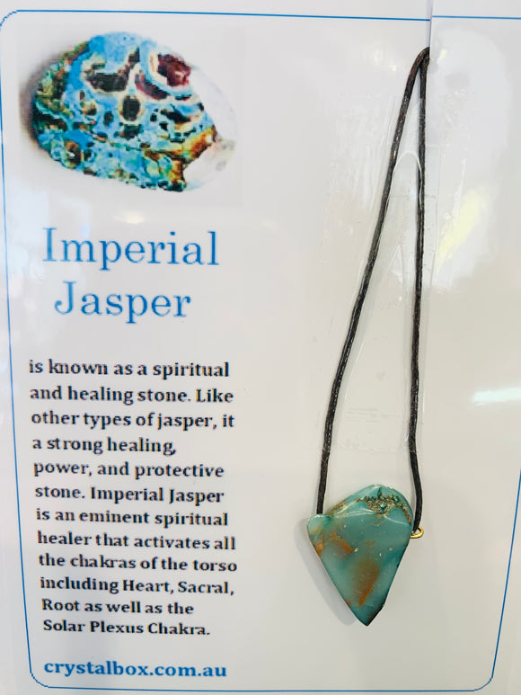 Imperial Jasper Necklace 2