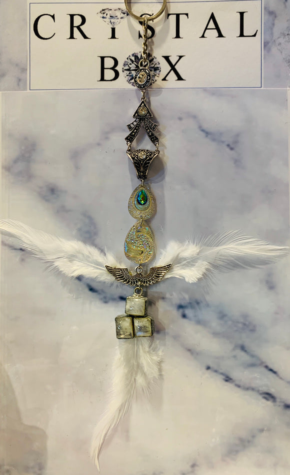 Angel Moonstone Sun Catcher