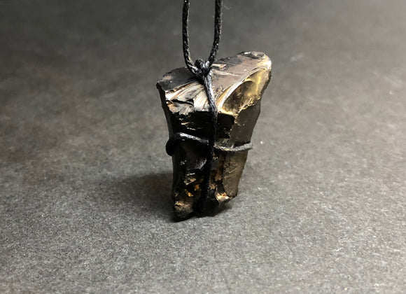 Elite Shungite Crystal Pendant Necklace