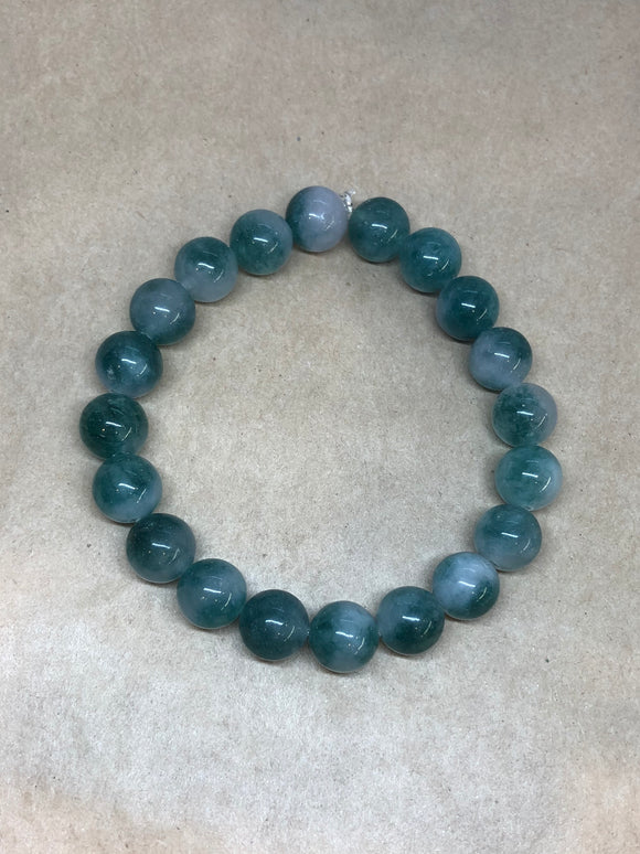 Green Jade Crystal Beaded Bracelet