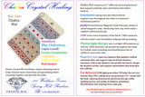 Chakra Energy Healings on Crystal Mat