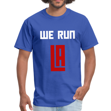We Run LA - Basketball Blue Unisex T-Shirt - royal blue