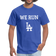 We Run LA - Baseball Blue Unisex T-Shirt