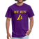 We Run LA - Basketball Purple Unisex T-Shirt