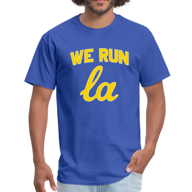 We Run LA - College Blue Unisex T-Shirt - royal blue