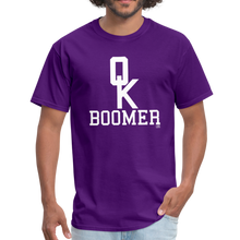 Load image into Gallery viewer, OK BOOMER Unisex Shirt - purple