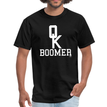 Load image into Gallery viewer, OK BOOMER Unisex Shirt - black